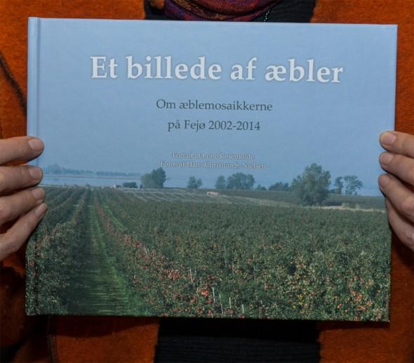 """Bogudgivelse på Fejø: """"Et billede af æbler"""""""